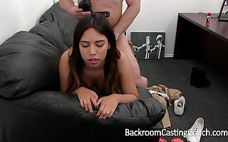 Mexican Teen First Anal increased by Creampie
