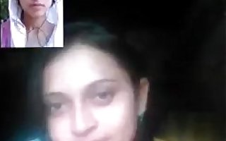 Indian Hot College Teen Girl On Video Call With Suitor at bedroom - Wowmoyback