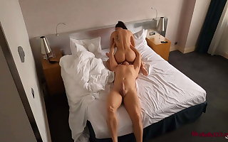 Hidden Hotel Cam Recorded Hot Sex nigh Different Positions